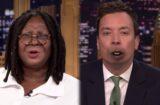 "Whoopi Goldberg and Jimmy Fallon ""Lip Flip"" on ""The Tonight Show"""