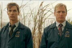 "Woody Harrelson and Matthew McConaughey star in ""True Detective"""