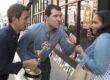 """Billy Eichner, Seth Meyers on """"The 66th Annual Emmy Awards"""""""