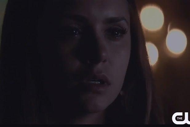 Nina Dobrev in Vampire Diaries season six trailer, TheCW