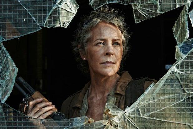 """Melissa McBride as Carol Peletier on """"The Walking Dead"""" (Frank Ockenfels 3/AMC)"""