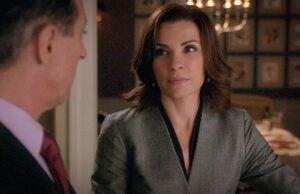 Julianna Margulies in The Good Wife Season 6 premiere