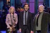 Kristen Wiig appears alongside Bill Hader on Saturday Night Live