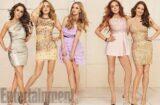 Lindsay Lohan, Tina Fey, Rachel McAdams, Amanda Seyfried and Lacey Chabert