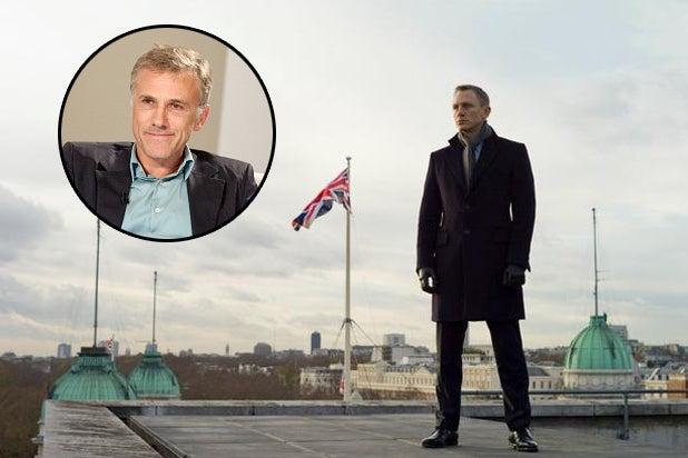 Christoph Waltz Joins 'Bond 24'