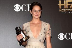 Shailene Woodley at the Hollywood Film Awards