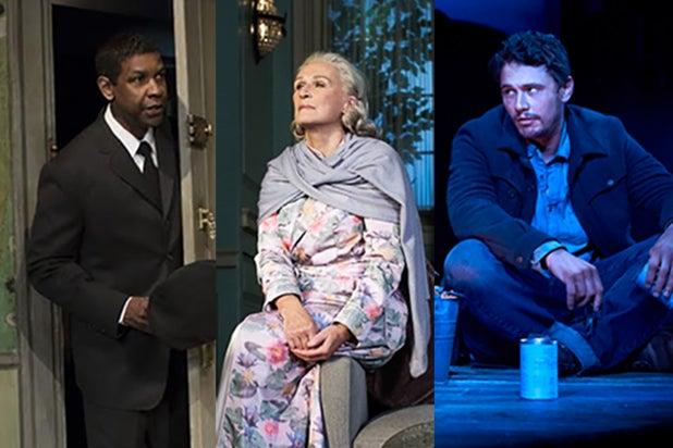 Denzel Washington, Glenn Close, James Franco