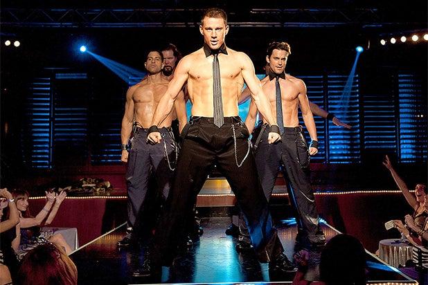 Male stripper splits