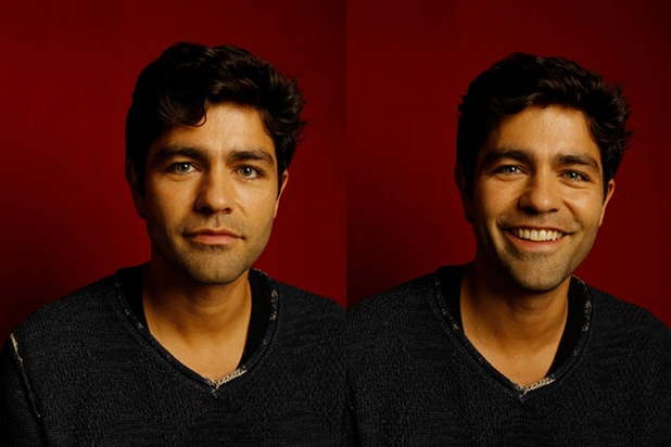 """52: The Search for the Loneliest Whale in the World"" producer Adrian Grenier, photographed by Patrick Fraser at TheWrap's Kia photobooth during the 2015 Sundance Film Festival in Park City, Utah on Jan. 23, 2015."
