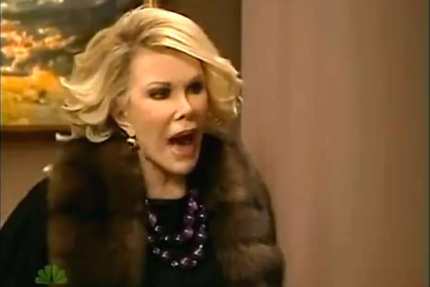 Joan Rivers makes