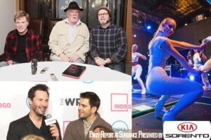 Robert Redford,  Nick Nolte, and Nick Offerman; Keanu Reeves and Eli Roth go hands-on with TheWrap, and Iggy lit up the  stage on Saturday night. (Getty Images)
