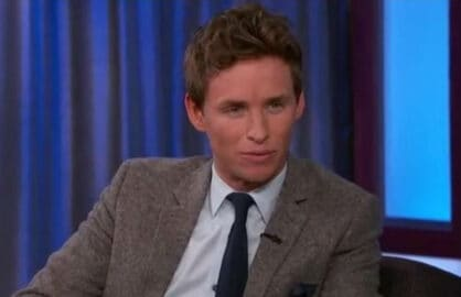 "Eddie Redmayne on ""Jimmy Kimmel Live!"""