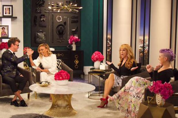 Kathy Griffin S Fashion Police Debut Scores Mixed Reviews On Social Media