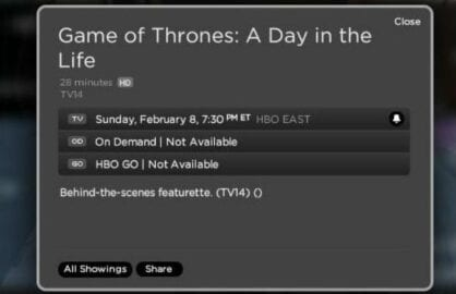 "Game of Thrones ""A Day in the Life"""