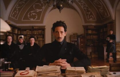 Adrian Brody in The Grand Budapest Hotel