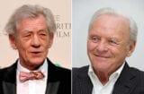 Ian McKellen, Anthony Hopkins (Getty Images)