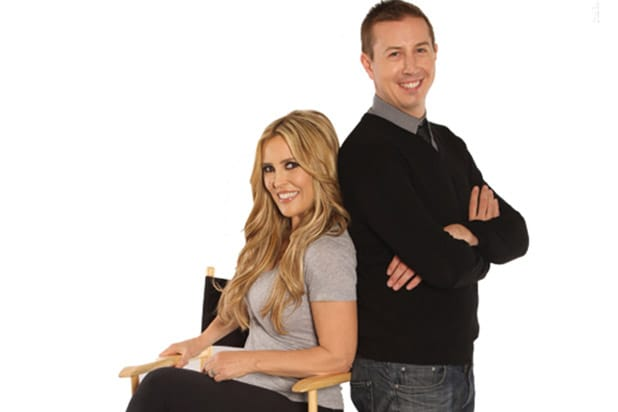 JIllian Barberie and John Phillips appear in KABC photo courtesy of Dean Keefer