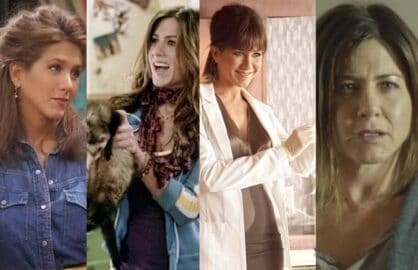 Jennifer Aniston evolution