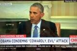 Obama Paris Shooting