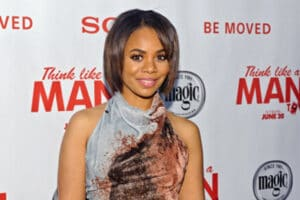 Regina Hall attends a screening of 'Think Like A Man Too' at the Showplace Icon Theater on June 12, 2014 in Chicago, Illinois. (Photo by Timothy Hiatt/Getty Images for Sony Pictures Entertainment)