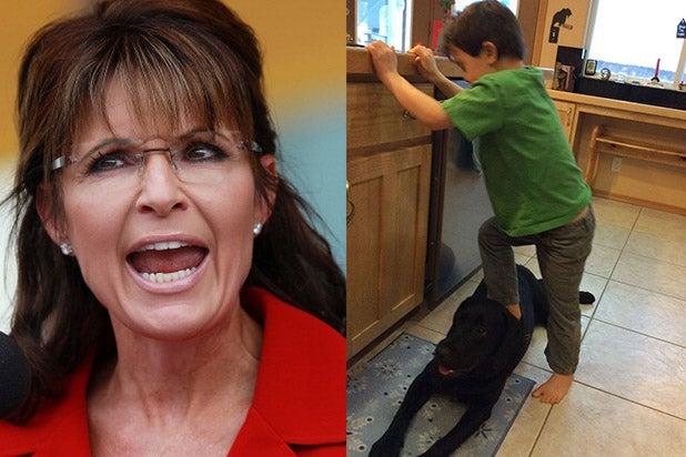 Sarah Palin Fires Back At Peta Over Controversial Pet Pic