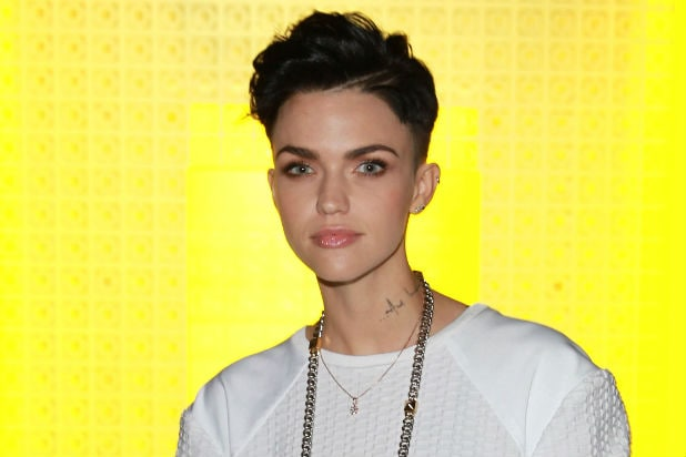 SYDNEY, AUSTRALIA - APRIL 09: Ruby Rose arrives for the Suboo show at Mercedes-Benz Fashion Week Australia 2014 at Carriageworks on April 9, 2014 in Sydney, Australia. (Photo by Caroline McCredie/Getty Images)