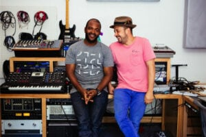 Sal Masekela and Sunny Levine 2