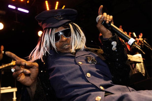 Musician Sly Stone performs during day 3 of the Coachella Valley Music & Art Festival 2010 held at The Empire Polo Club on April 18, 2010 in Indio, California. (Photo by Charley Gallay/Getty Images)