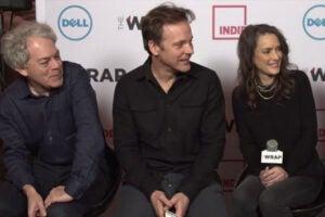 Sundance 2015: Experimenter director Michael Almereyda, Peter Sarsgaard, Winona Ryder