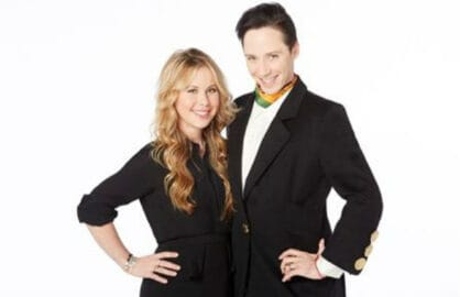 Tara Lipinksi, Johnny Weir (NBC Sports)
