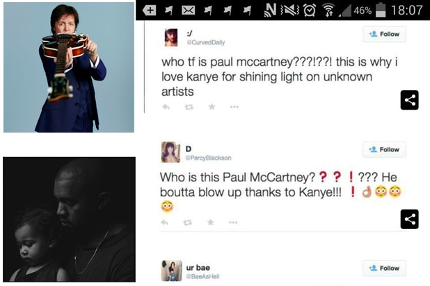 4dffe9ded31 Paul McCartney Responds to Twitter Ridiculousness Over Kanye West  Collaboration