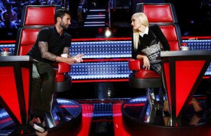 Adam Levine Gwen Stefani