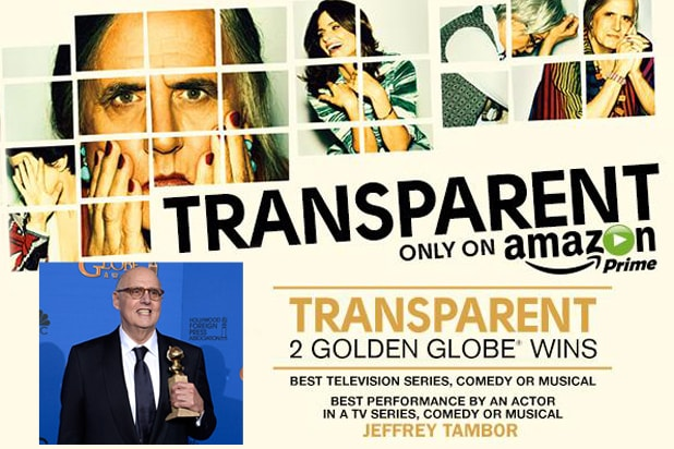 Jeffrey Tambor, 'Transparent,' Amazon Studios Golden Globes (Amazon Studios/Getty)
