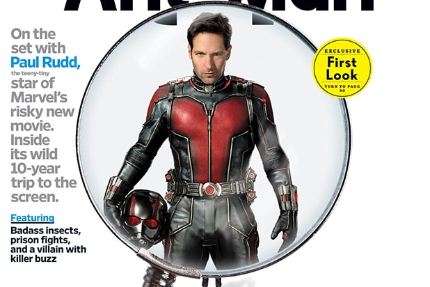Paul Rudd Suits Up as 'Ant-Man' in First Look at Marvel's Newest, Tiniest  Hero (Photo)