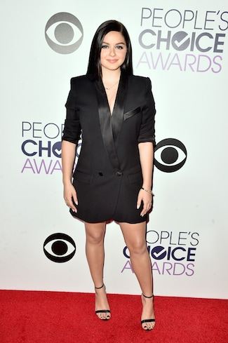 ariel winter The 41st Annual People's Choice Awards - Red Carpet