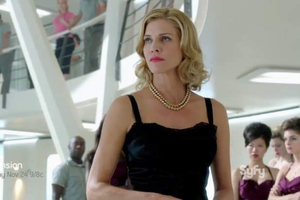 "Tricia Helfer in ""Asension"""