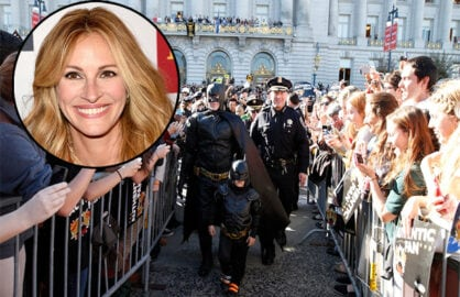 Julia Roberts Making 'Batkid Begins' Remake