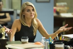 """Eliza Coupe on """"Benched"""""""