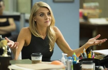 "Eliza Coupe on ""Benched"""