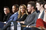 The Flash, Arrow panels TCA 2015, The CW, Colton Haynes, Katie Cassidy, Stephen Amell, Grant Gustin, David Ramsey