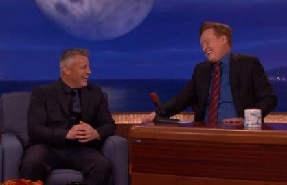 "Matt LeBlanc on ""Conan"""