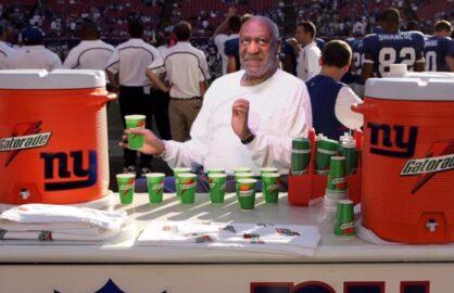 "Bill Cosby/New England Patriots gag on ""Conan"""