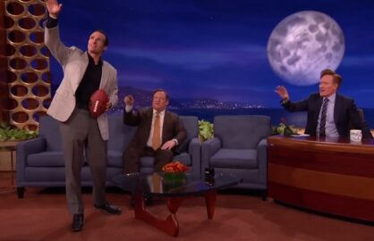 "Drew Brees on ""Conan"""