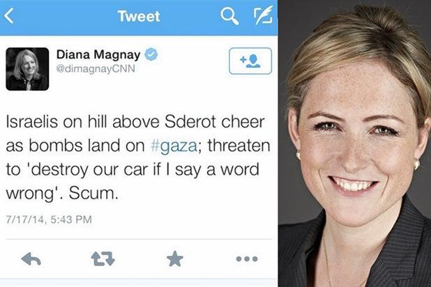 CNN correspondent Diana Magnay (CNN)