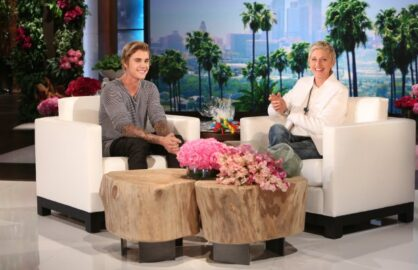 """Justin Bieber on """"Ellen"""""""