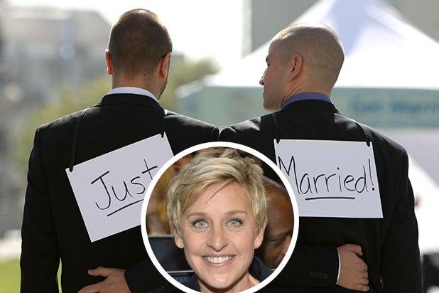 Ellen Gay Marriage 10