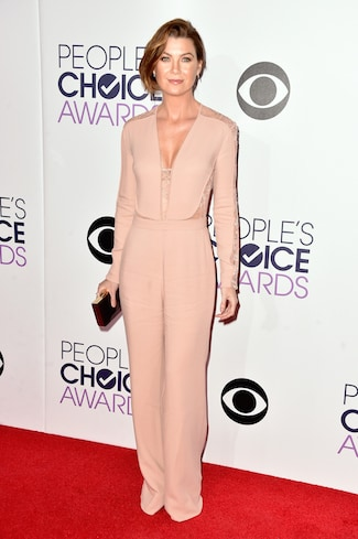 Ellen Pompeo The 41st Annual People's Choice Awards - Red Carpet