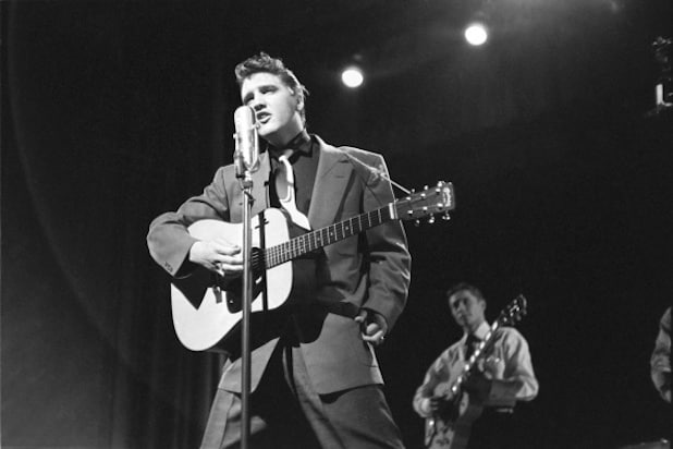 Elvis On 'Stage Show'