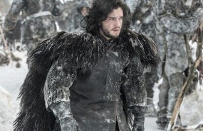 "Kit Harrington in HBO's ""Game of Thrones"""