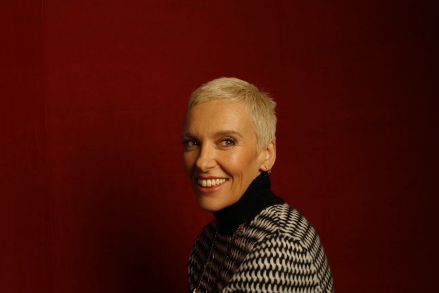 """Glassland"" star Toni Collette, photographed by Patrick Fraser at TheWrap's Kia photobooth during the 2015 Sundance Film Festival in Park City, Utah on Jan. 23, 2015."